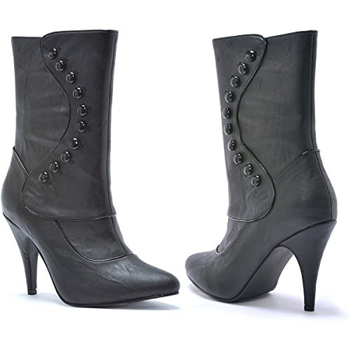 Boots Adult Ellie Ruth Victorian Shoes Black Women's wqwXT7xp