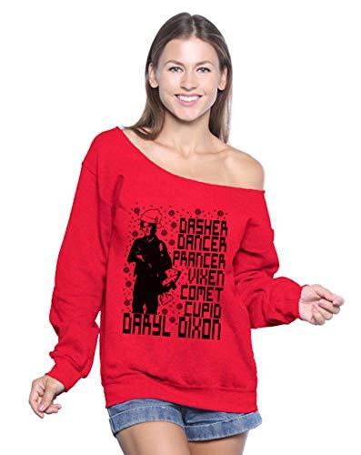 Christmas Pajamas for Family Off Shoulder Daryl Dixon