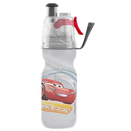 O2COOL Licensed ArcticSqueeze Insulated Mist 'N Sip Squeeze Bottle 12 oz., Cars