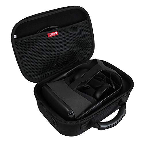 Hermitshell Hard EVA Travel Case for Oculus Quest All-in-one VR Gaming and Controllers (Black 2)