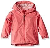 Columbia Girls' Big Switchback Ii Waterproof Jacket, Wild Salmon, Small