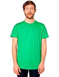 American Apparel Men's Unisex Fine Jersey Short-Sleeve...