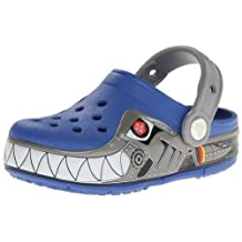 crocs Kids CrocsLights Robo Shark PS Clog