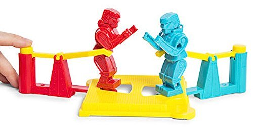 Rock'em Sock'em Robots Fast Fun Game Mini Travel Size -