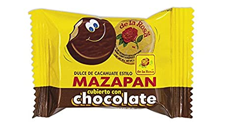 Amazon.com : Authentic Sabores - Imported Mexican Marshmallows Lollipop With Chocolate and Gummies - Paleta Payaso 4ct. With 1 Marzipan Chocolate Covered de ...