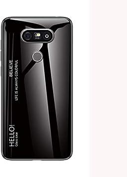 SHIEID Funda para LG G5,Caja de Vidrio Templado Case Cover para LG ...