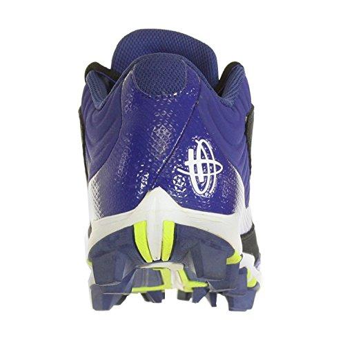 Nike Huarache Keystone Low Blk/Wh/Royal Mens Baseball Cleats US 8 M, EU 41