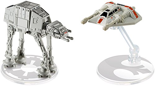 Hot Wheels Star Wars AT-AT vs. Rebel Snowspeeder Vehicles, 2