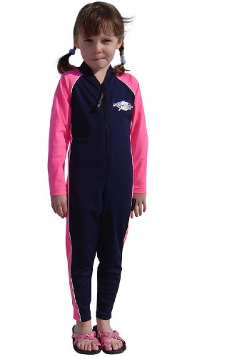 Stingray Australia UV Sun Protection Full Body Swimsuit for Boys & Girls-SPF Protective 1-piece suit - Long sleeve, Long leg Swimwear -Size 4. ()