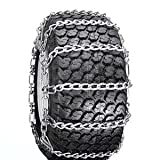 Snow Tire Chains for ATV, Snow Blower / Thrower 2 Link 18 x 9.50 x 8