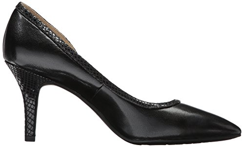 Black Leather Ak Women's Pump Anne Yanci Klein Sport vw0cBSxgzq