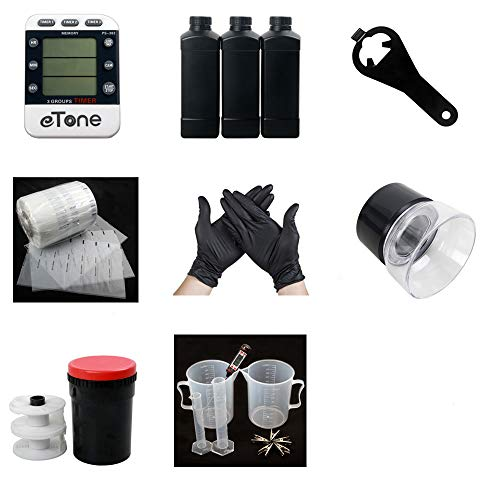 135 35mm Color B&W Film Darkroom kit Processing Equipment Timer Clock Developing Tank Film Canister Opener Chemical Bottle