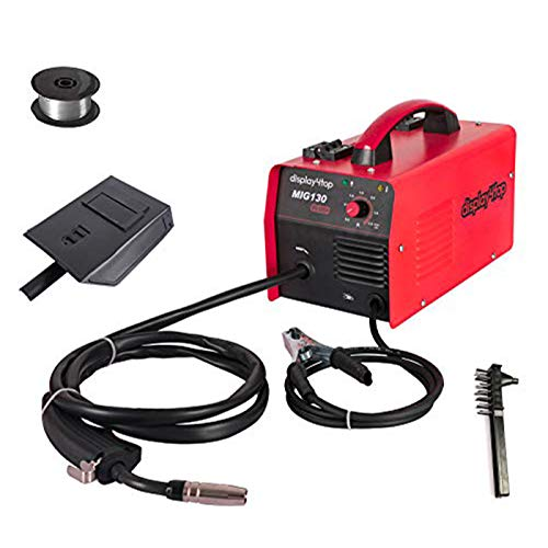 Display4top Portable No Gas MIG 130 PLUS Welder Flux Core