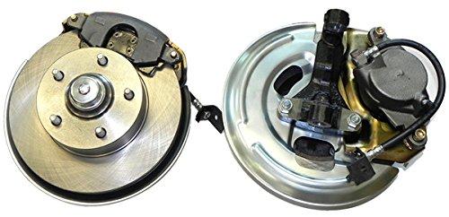 68 Front Disc Brake (67-74 F/X Body Front Disc Brake Conversion Wheel Kit Set Caliper Rotor Brackets)