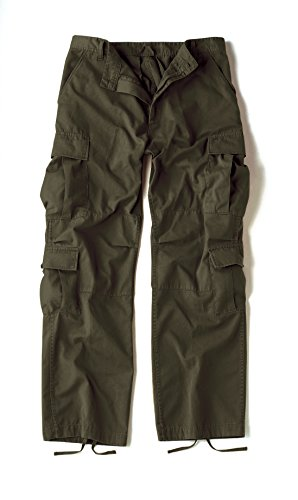 Rothco Vintage Paratrooper Fatigues, Olive Drab, Large (Olive Drab Bdu Pants)