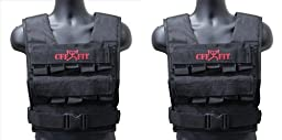 CFF Adjustable Weighted Vest 20 kg/44 lbs - Comes with extra Vest(shell only)