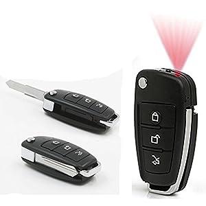 Mini Camera,YYCAMUS 1920x1080 DVR Multifunctional Hd Cam Car Key DVR IR Night Vision with Motion Dectect