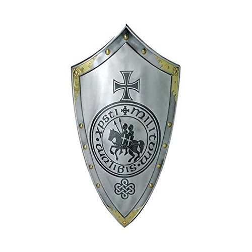 Knights Templar Armor Shield by NAUTICALMART