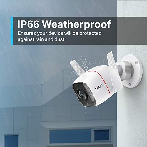 Câmera Wi-Fi de Monitoramento Externa TP-Link Tapo C310