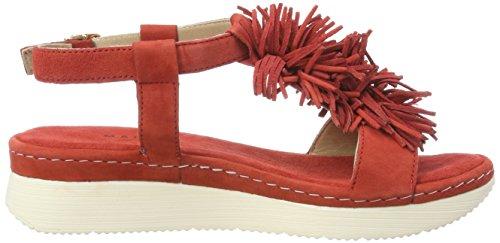 Ballerine Donna Shoe Manas Rosso 121D0204Int Corallo Rot Rosso qFEwxtgw
