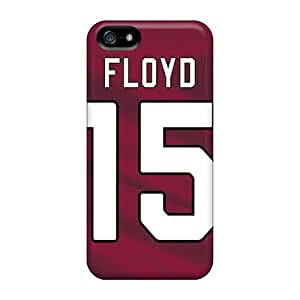 Best Hard Phone Cover For Iphone 5/5s With Custom Lifelike Arizona Cardinals Series JohnPrimeauMaurice