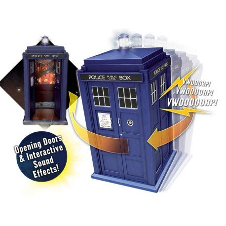 Doctor Who Flight Control 12th Doctor Tardis Vehicle (Control Who Flight Doctor)