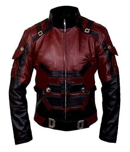 F&H Boy's Daredevil Matt Murdock Charlie Cox Jacket XL Maroon