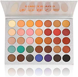 Beauty Glazed Eyeshadow Palettes 35 Colors Makeup Matte