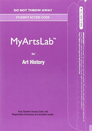 NEW MyLab Arts -- Standalone Access Card -- for Art History (6th Edition) (New My Arts Lab)