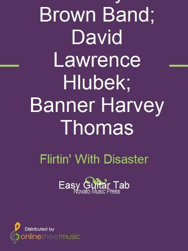 flirting with disaster solo tab music free online