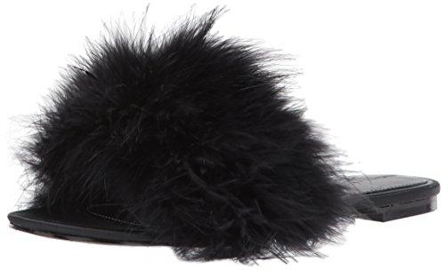 KENDALL + KYLIE Women's Chloe Slide Sandal, Black/Black, 7 Medium US by KENDALL + KYLIE