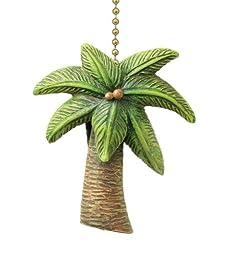 Tropical Palm Tree Fan Pull