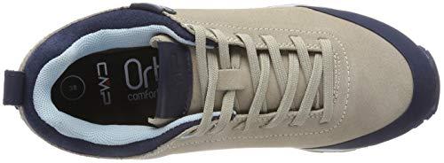 Women's Rise Sand Low Boots White Elettra A516 Hiking CMP vHnUw1Rqq