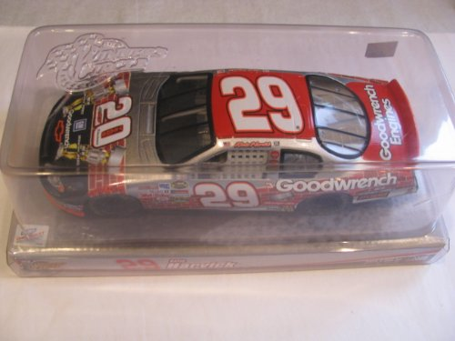 Kevin Harvick #29 GM Goodwrench Engines 20th Anniversary RCR Richard Childress Racing Theme With Dual Brickyard Indy Win 1995 & 2003 Trophy Images 1/24 Scale Diecast Winners Circle - Goodwrench Engine
