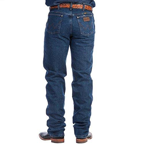 Wrangler Men's Premium Performance Mid Stone Jeans Med Stone