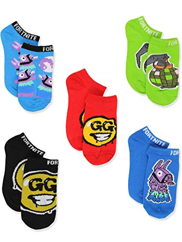 Fortnite Epic Games Boys 6 Pack Low Cut Socks