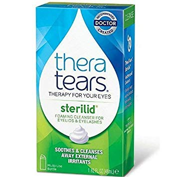 Sterilid Eyelid Cleanser - TheraTears SteriLid Eyelid Cleanser 1.62 oz