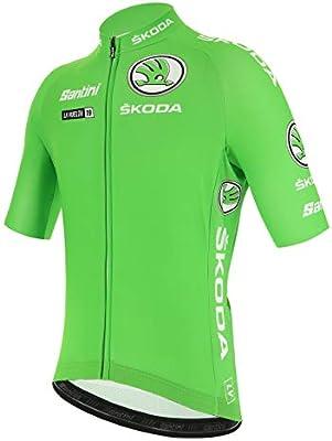Santini - La Vuelta 2019 - Best Sprinter, Camiseta de Manga Corta para Hombre, Hombre, RE9427519LV, Verde, X-Large: Amazon.es: Deportes y aire libre