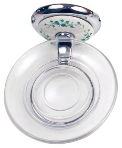 (Moen Inspirations Boutique Collection Soap Holder, Green Ivy)
