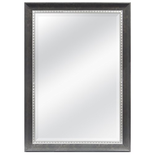 MCS 24x36 Inch Sloped Mirror, 29.5x41.5 Inch Overall Size, Bronze - Mirrors Bathroom Different