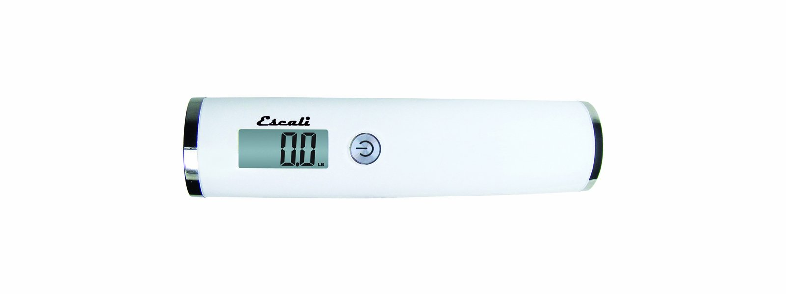 Escali Velo 11050W Hanging Digital Readout Portable Travel Compact Luggae Scale, 110lb Capacity, White by Escali