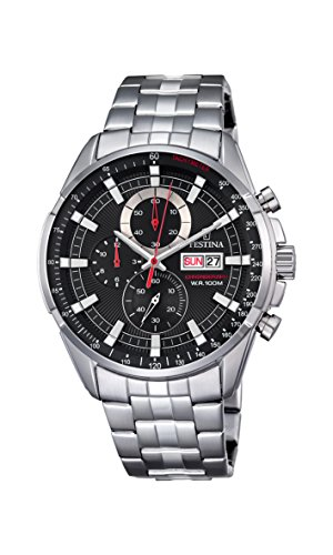 (Watch Festina Men's F6844/4 Chronograph - Stainless Steel)