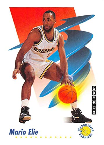 Golden State Warriors Rookie Basketball - 1991-92 SkyBox Basketball #89 Mario Elie RC Rookie Card Golden State Warriors Official NBA Trading Card