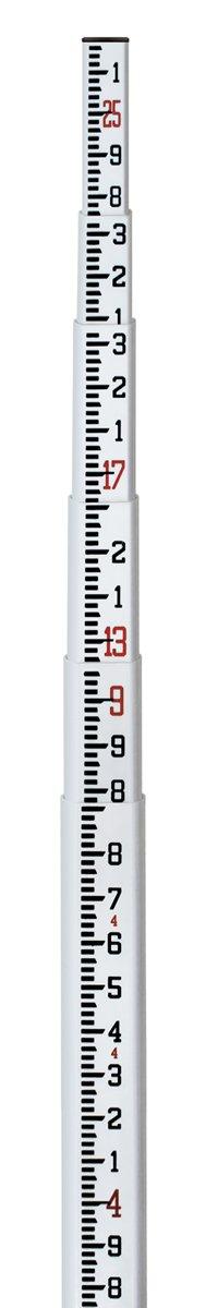 SitePro SPR 25-ft Fiberglass Leveling Rod (SVR) - 10ths