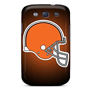 For BZg3364cQtU Cleveland Browns Protective Case Cover Skin/Galaxy S3 Case Cover