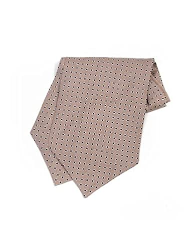 Geometric Desgined Silk Printed Ascot For Men-Dress