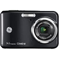 General Imaging Digital Camera with 14MP, 4X Optical Zoom, 2.7-Inch LCD with Auto Brightness and 27mm Wide Angle Lens (Black) C1440W-BK Benefits Review Image
