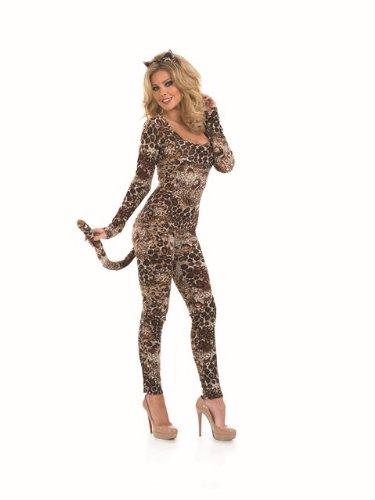 [Sexy Cougar Leopard Female Fancy Dress Costume - Size XXXL (US 26-28)] (Size 28 Costumes)
