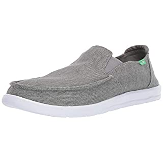 Sanuk Men's Hi Five Sneaker, Grey, 9 M US