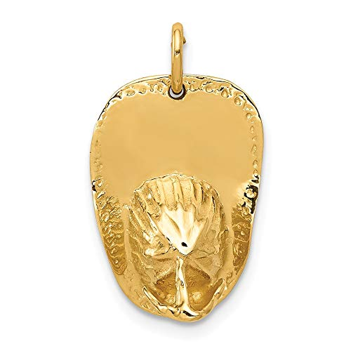 14k Yellow Gold 3 D Large Firemans Hat Pendant Charm Necklace Career Professional Firefighter Man Fine Jewelry Gift For Dad Mens For Him